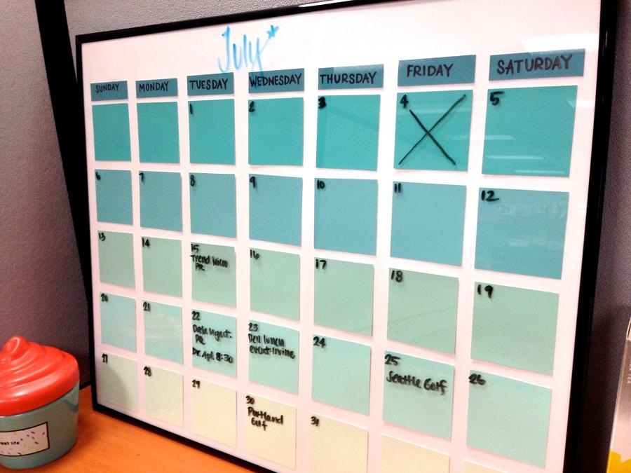 C 243 Mo Hacer Tu Propio Calendario Ideas Decoradores