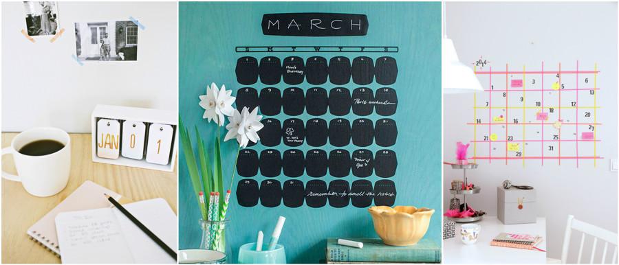 calendarios DIY