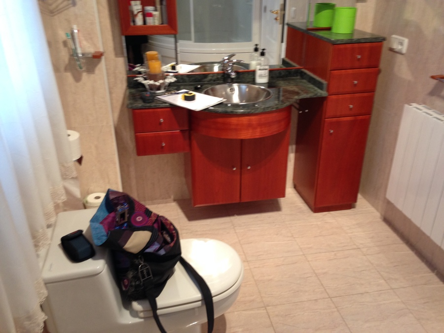 Calzada Romana 4 - baño antes