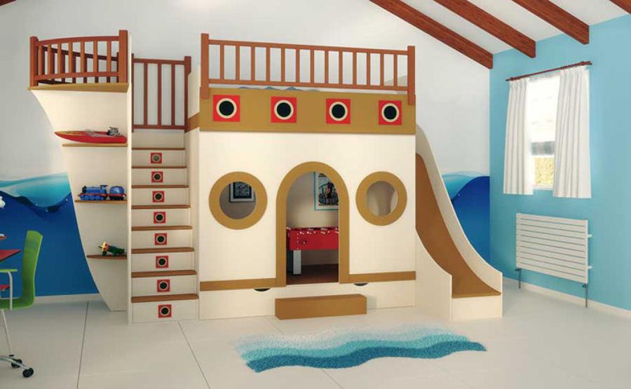 Foto cama barco de arquitectos madrid 2 0 928654 habitissimo - Dormitorios infantiles granada ...