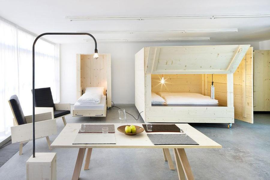 Camas ingeniosas para espacios reducidos ideas decoradores - Vorrei ristrutturare casa ...