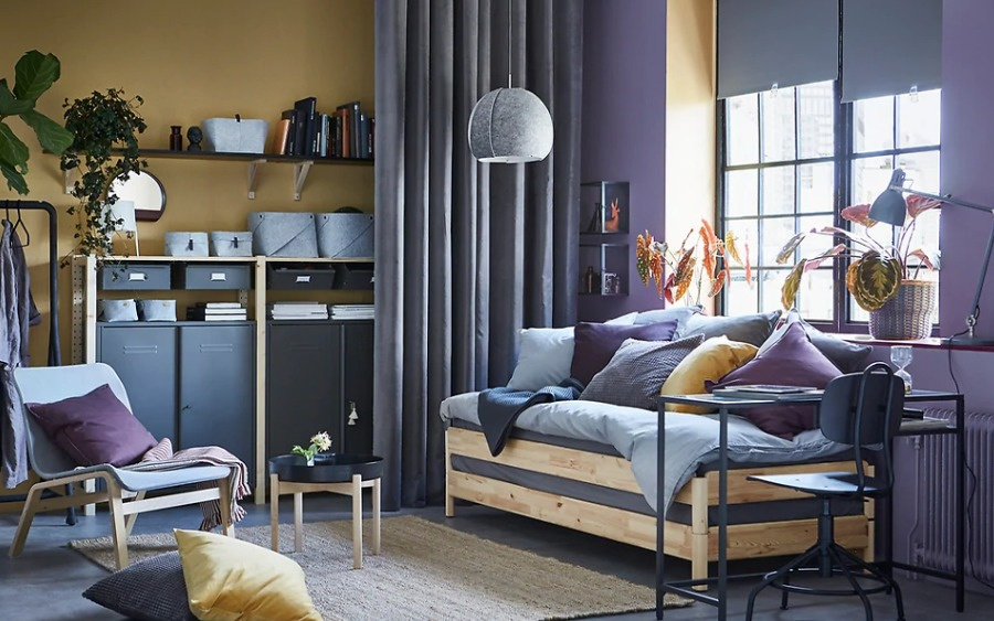 CAMA CON COLCHÓN DE IKEA