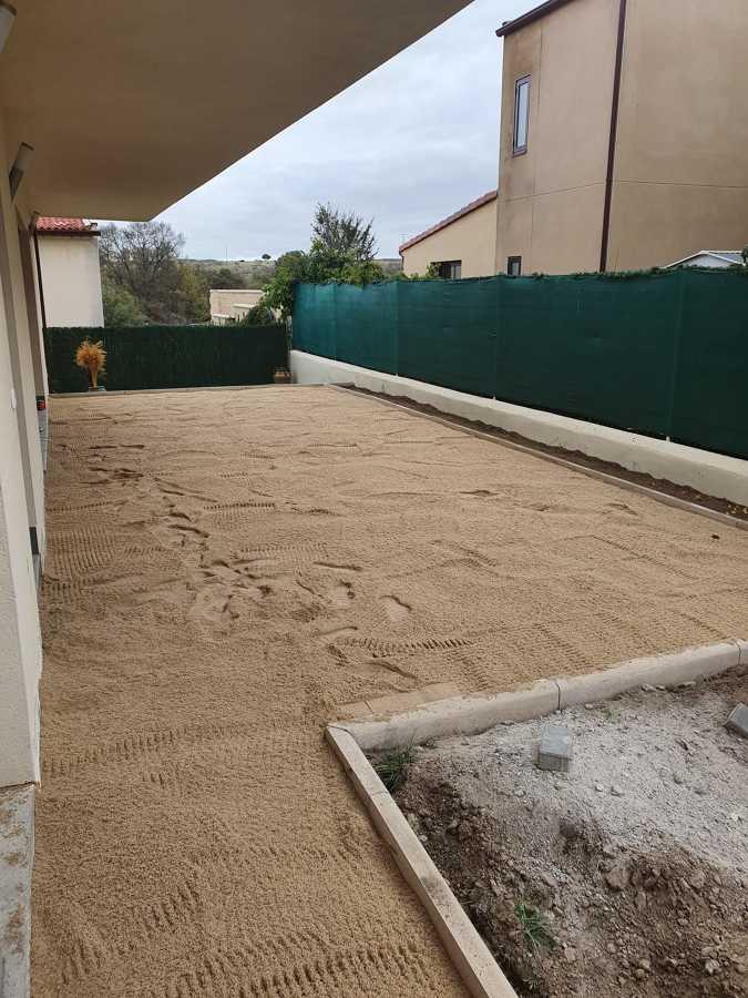 Cama de arena