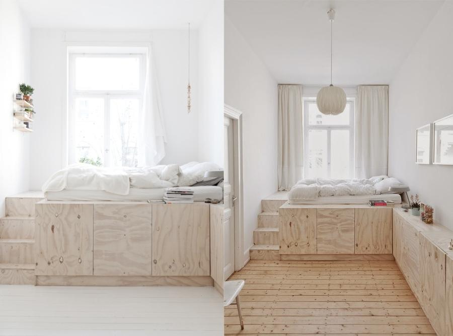 Cama en mueble 4