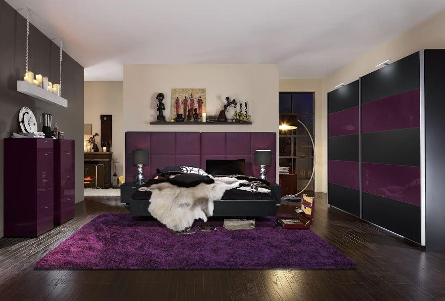 Pensando en renovar tu dormitorio di s a las camas de for Schlafzimmer lila gra n
