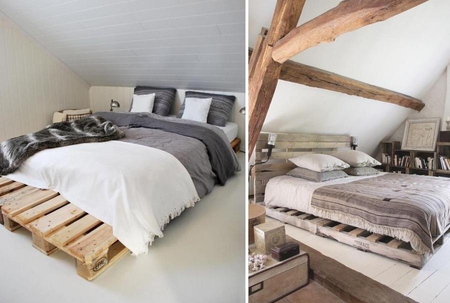 cama palet madera