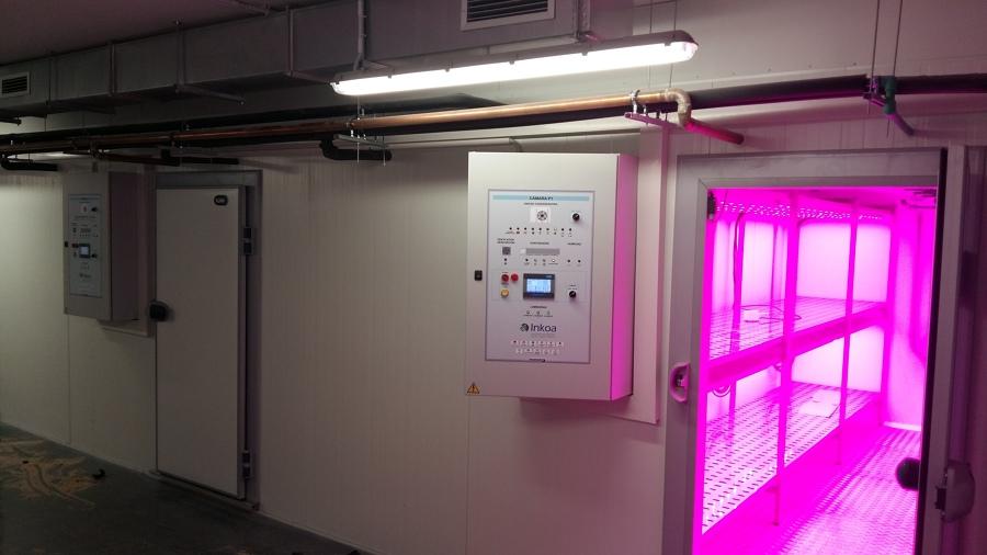 Camara conservación con luz ultravioleta