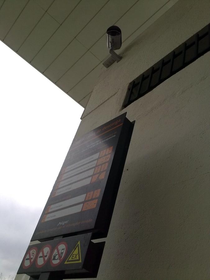 Sistema de videovigilancia en estacion de servicio ideas - Camaras videovigilancia exterior ...