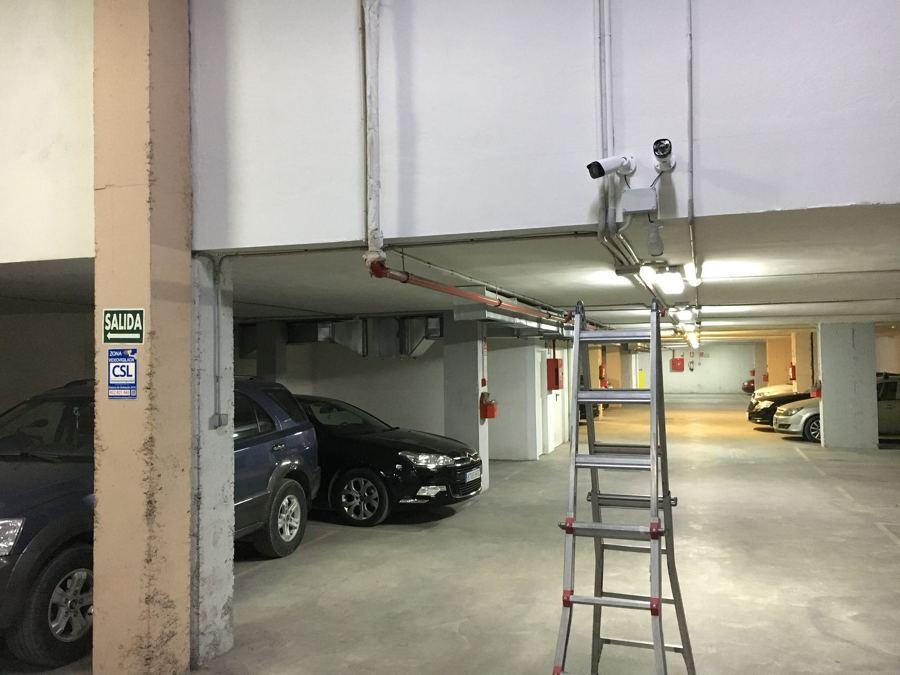 Cámaras garaje