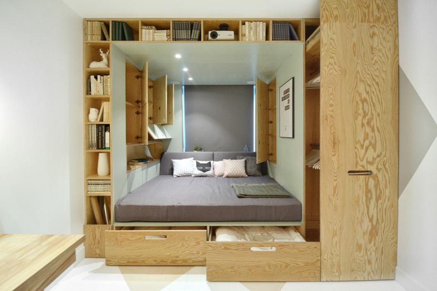 camas almacenaje