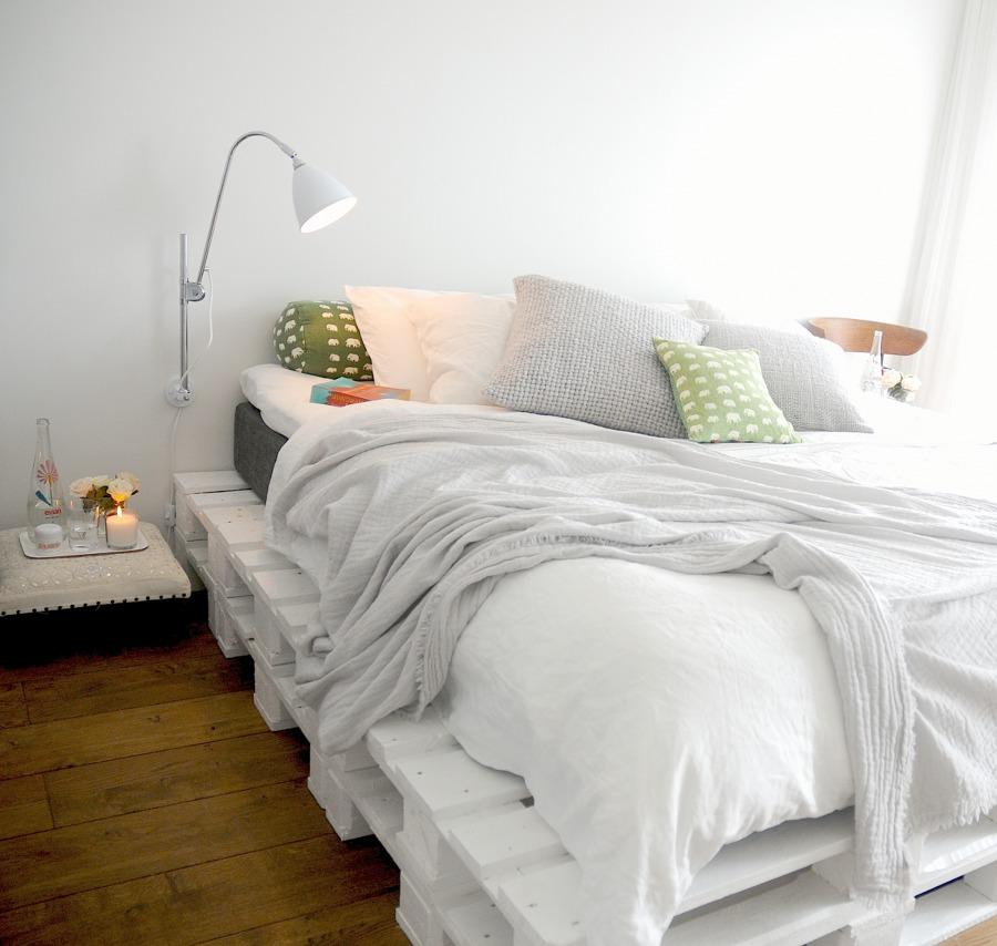 camas de palets suelo