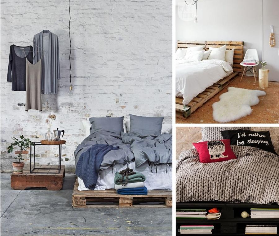 Camas hechas con palets y felices sue os ideas decoradores - Como hacer una cama infantil ...