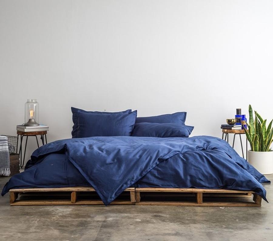 camas palets a ras de suelo