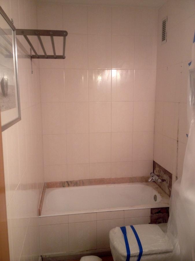 Cambio ba era por plato de ducha laura y gabriel ideas - Banera para ducha ...