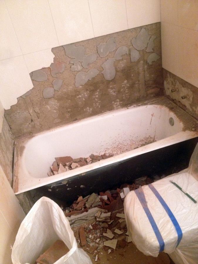 Foto cambio ba era por plato de ducha laura y gabriel de - Cambio banera por ducha madrid ...