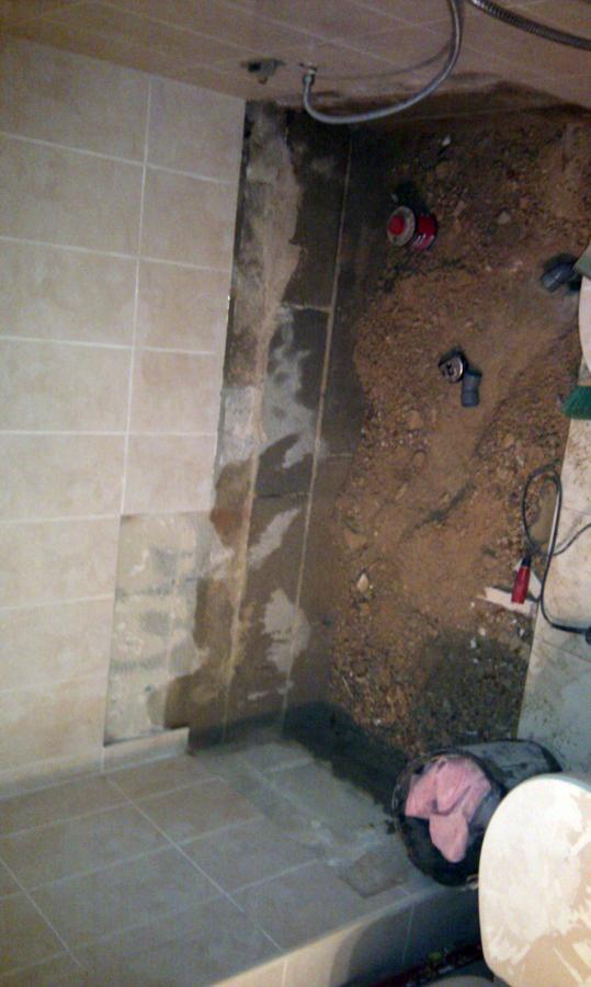 Foto cambio de ba ara por plato de ducha de obra de - Cambio banera por ducha sin obras ...