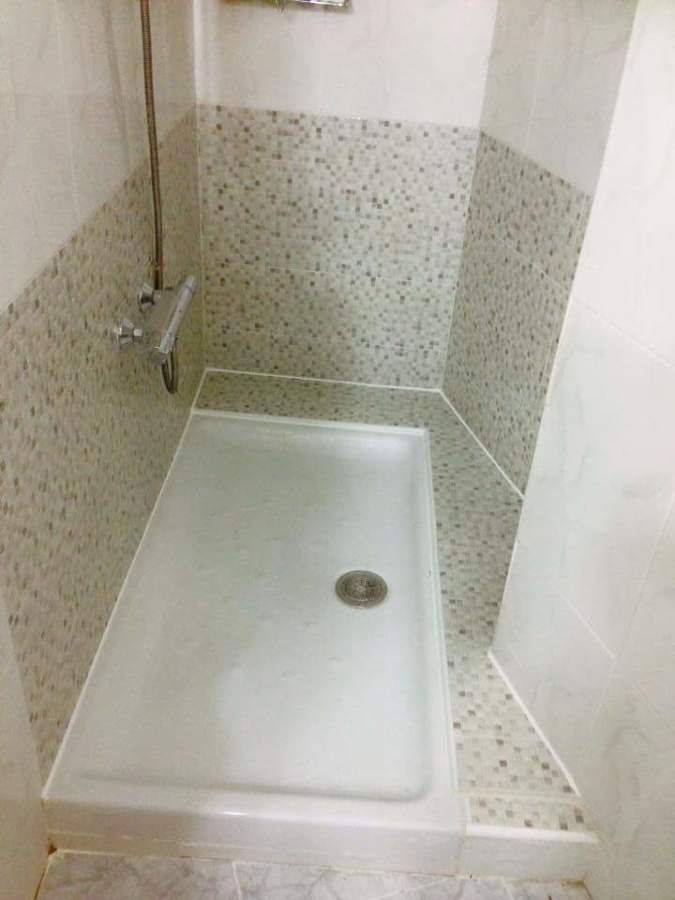 Cambio de ba era por plato de ducha ideas reformas viviendas - Banera plato de ducha ...