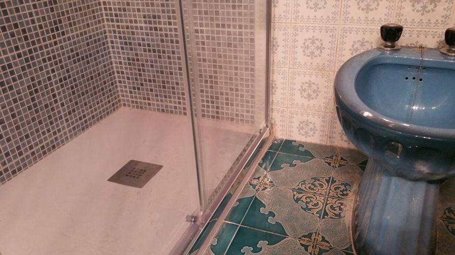 Cambio de ba era por plato de ducha para cliente de leroy for Ducha jardin leroy merlin
