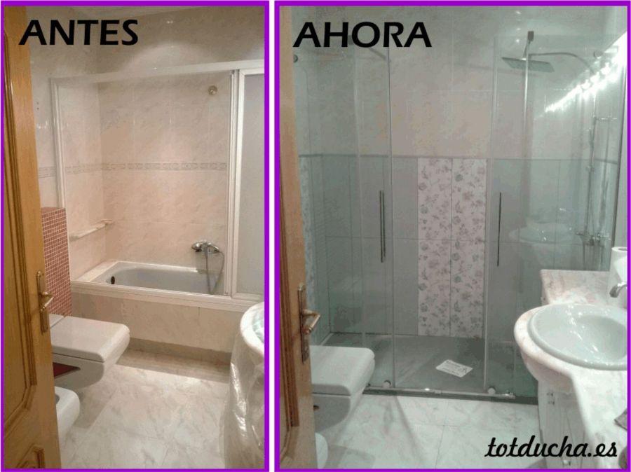 Cambio de ba era por plato de ducha en valencia ideas - Azulejos para duchas ...