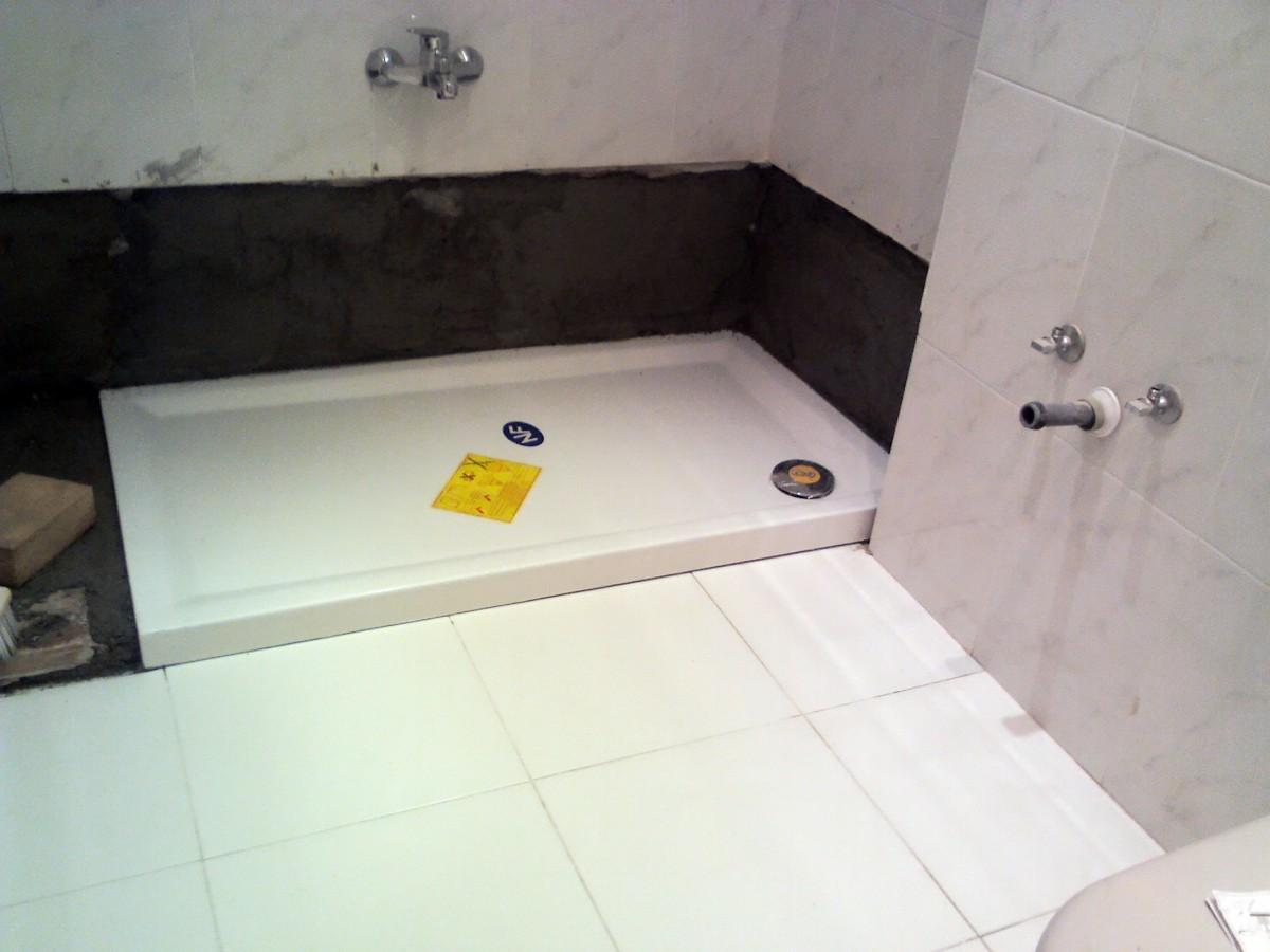 Reforma ba o banera por ducha for Plato de ducha flexible