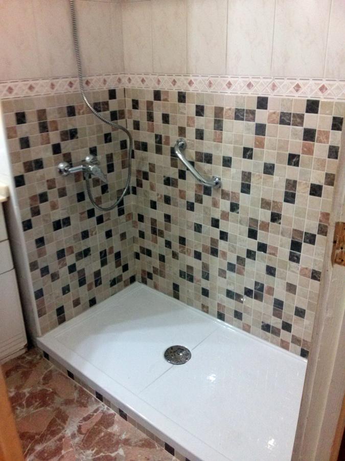 Foto cambio de ba era por plato de ducha de hermesa24 s l - Cambio de banera por ducha madrid ...