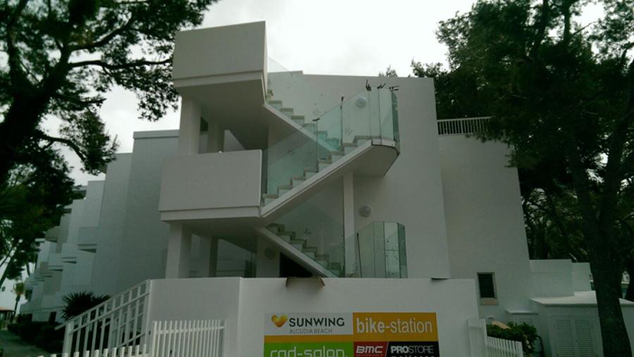 Cambio de barandillas escalera