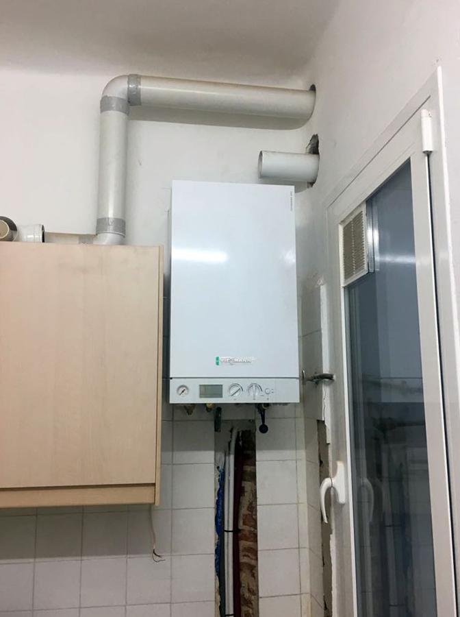 Cambio de caldera en vivienda