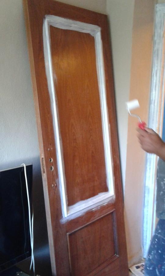 Pintar puertas de madera en blanco lacado ideas - Lacar puertas en blanco precio ...