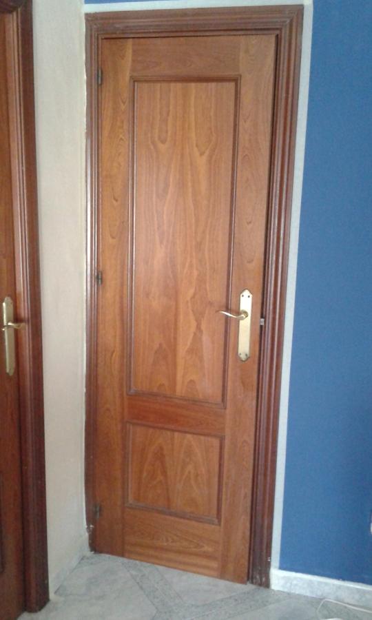Pintar puertas de madera en blanco lacado ideas for Pintar puertas de madera en blanco