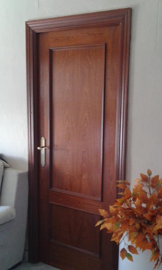 Pintar puertas de madera en blanco lacado ideas for Lacar puertas en blanco precio