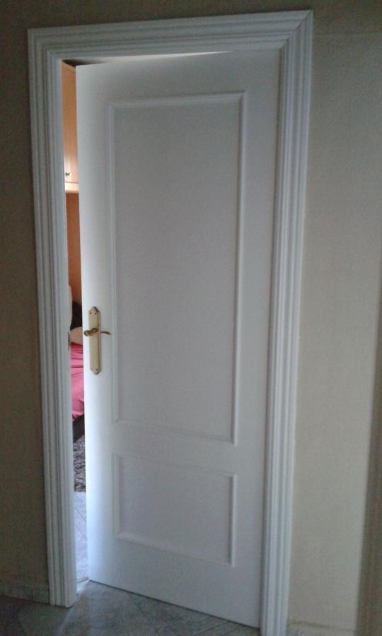 Pintar puertas de madera en blanco lacado ideas - Cambio de puertas ...