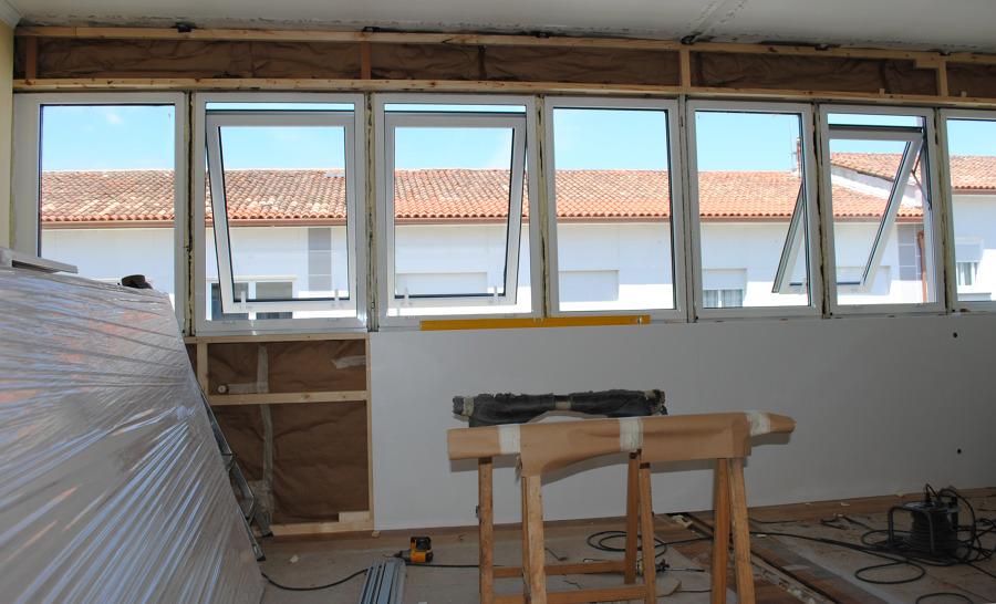cambio de ventanas y fachadas