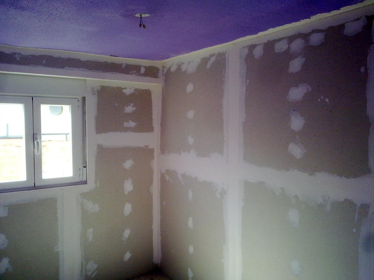 Aislamiento de paredes interiores de la vivienda - Plancha de pladur ...