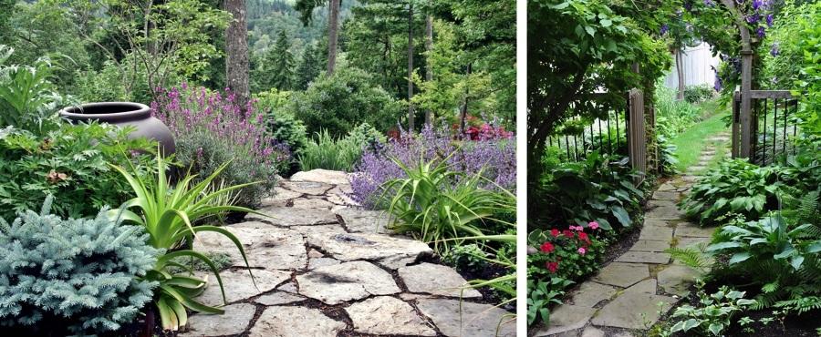 Qu tipo de camino puedo usar en mi jard n ideas for Piedras grandes para jardin