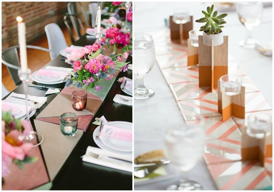 Foto camino mesa baldosas de ecodeco mobiliario 913998 for Camino mesa moderno