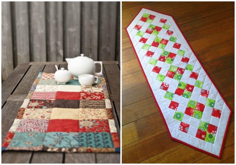 Foto camino mesa patchwork de ecodeco mobiliario 913994 for Camino mesa moderno