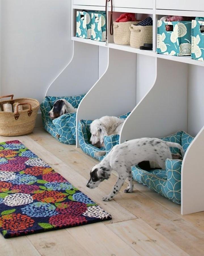 Foto camitas de perros de boho chic 856632 habitissimo - Escaleras para perros pequenos ...