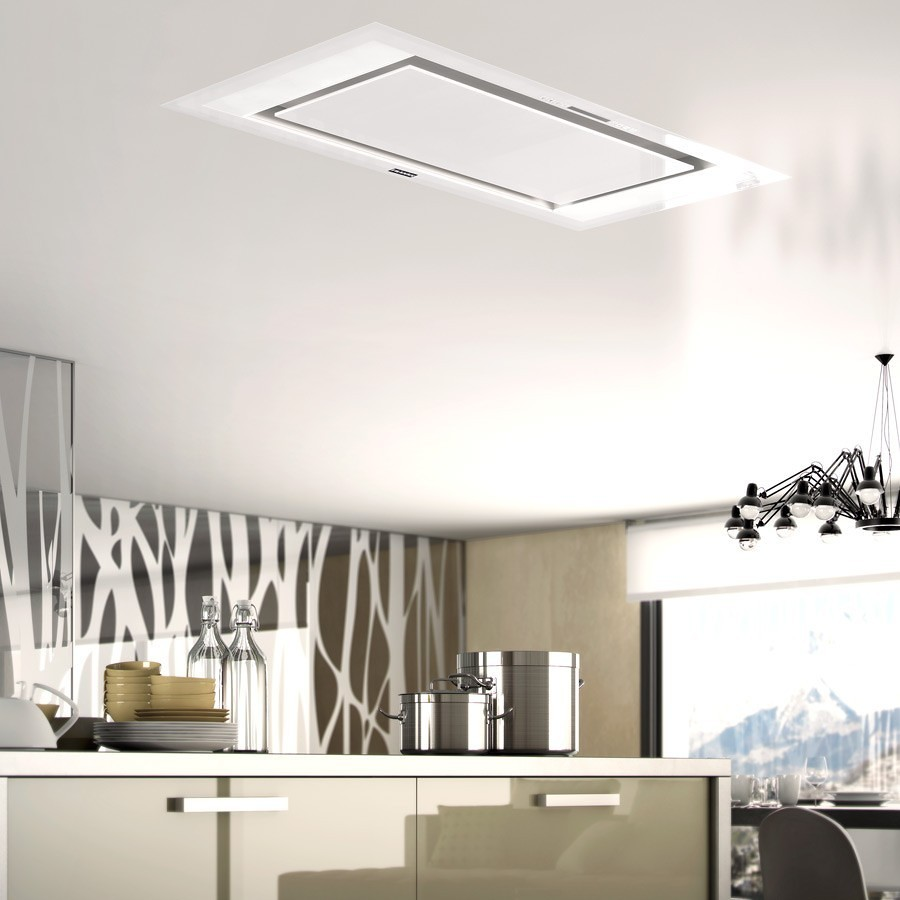 Foto campana techo con luz de elenatorrente d az 903851 - Campana extractora integrada ...