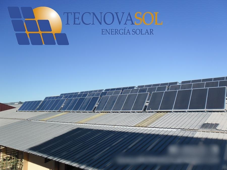 Instalaci n solar t rmica para proceso industrial ideas - Placa solar termica ...