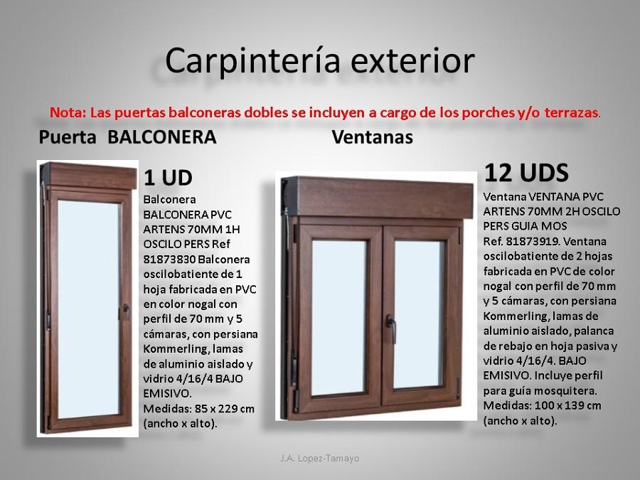 CARPINTERIA EXTERIOR