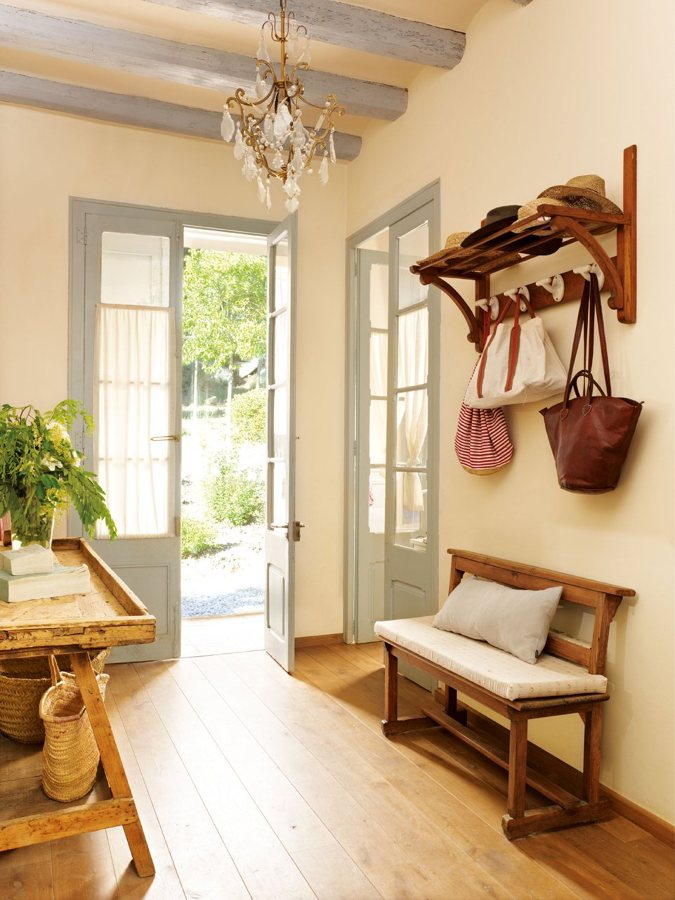 10 trucos para renovar tu chalet o casa de campo ideas - Baldosas rusticas leroy merlin ...
