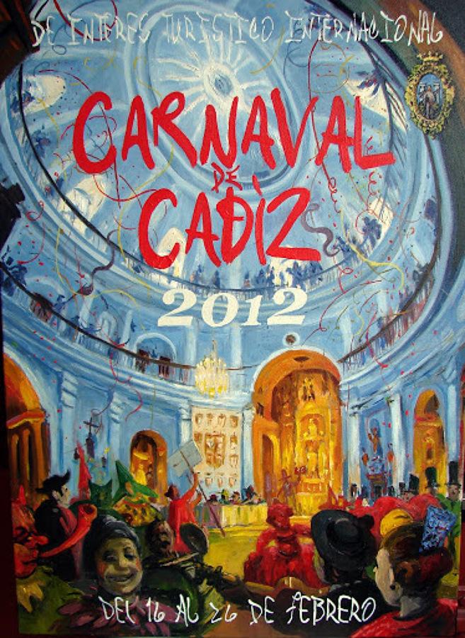 CARTEL CARNAVAL DE CÁDIZ 2012