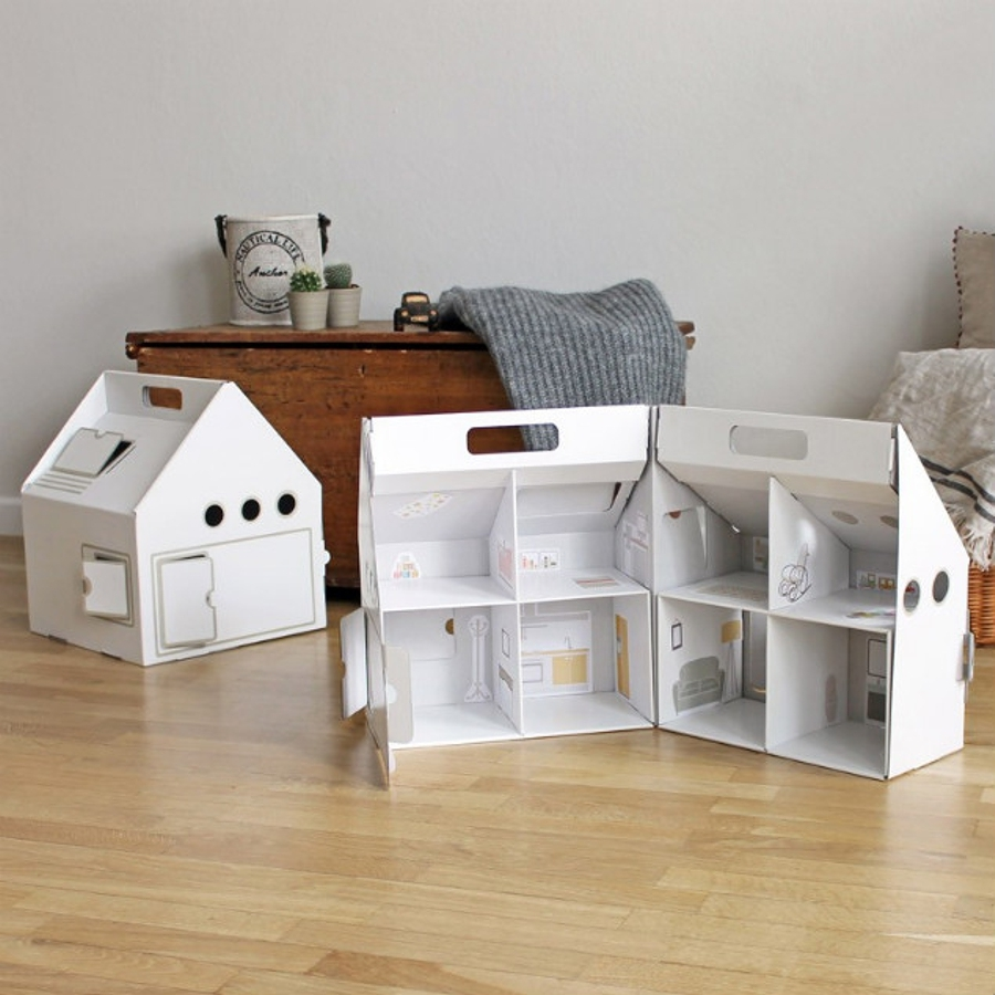 Decora Con Cart N Y Dale A Tu Hogar Un Toque Ecofriendly Ideas  # Muebles Diy De Carton
