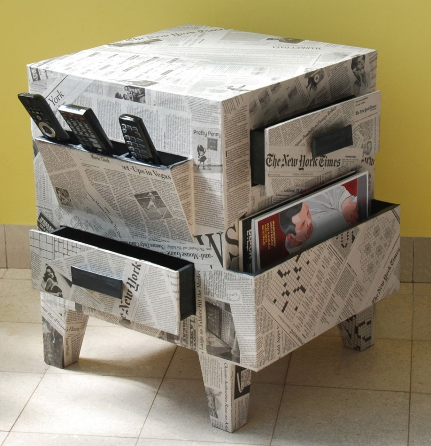 Decora con cart n y dale a tu hogar un toque ecofriendly - Carton para muebles ...