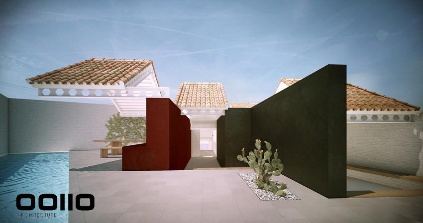 Casa 2QR_Patio y Piscina.