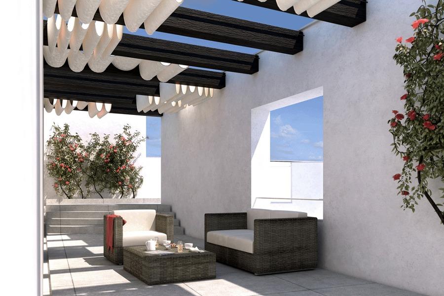 Casa 2xS_Vista desde el Dormitorio Principal