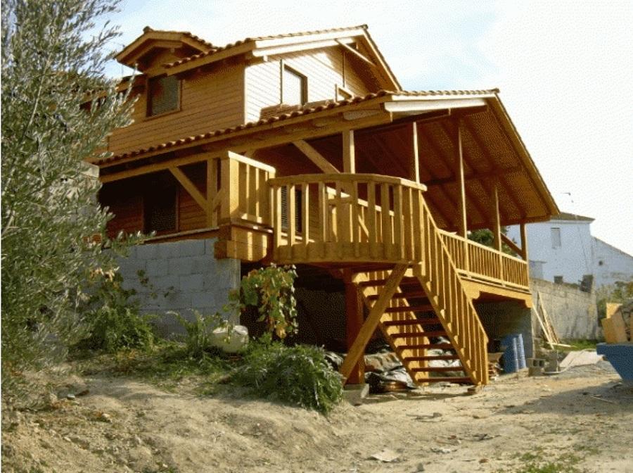 Casa de madera alhama de granada ideas construcci n casas - Casas de madera en granada ...