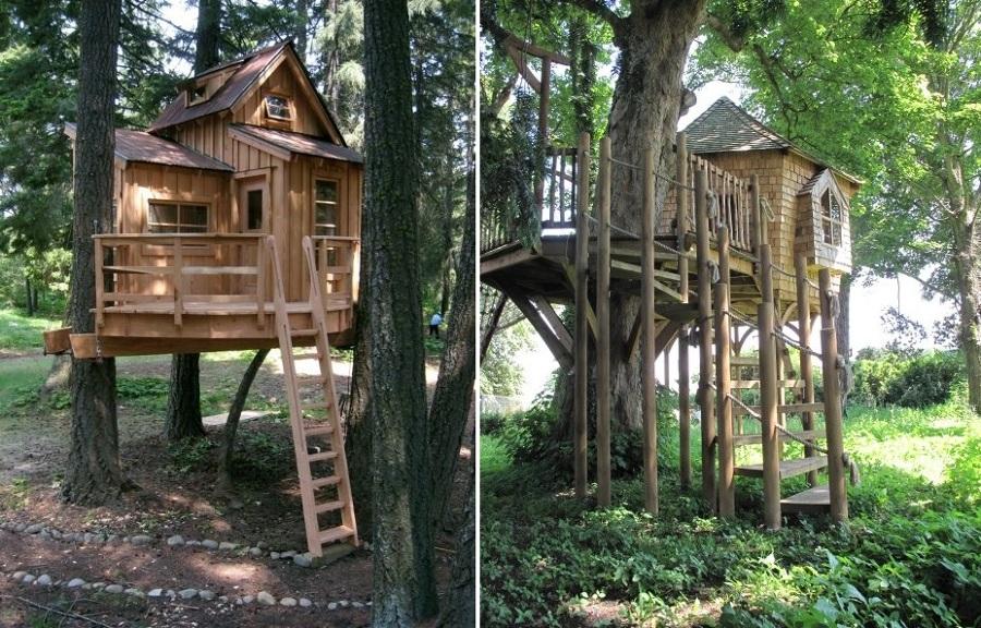Vuelve a ser un ni o y construye tu propia casa del rbol - Cabanas en los arboles ...