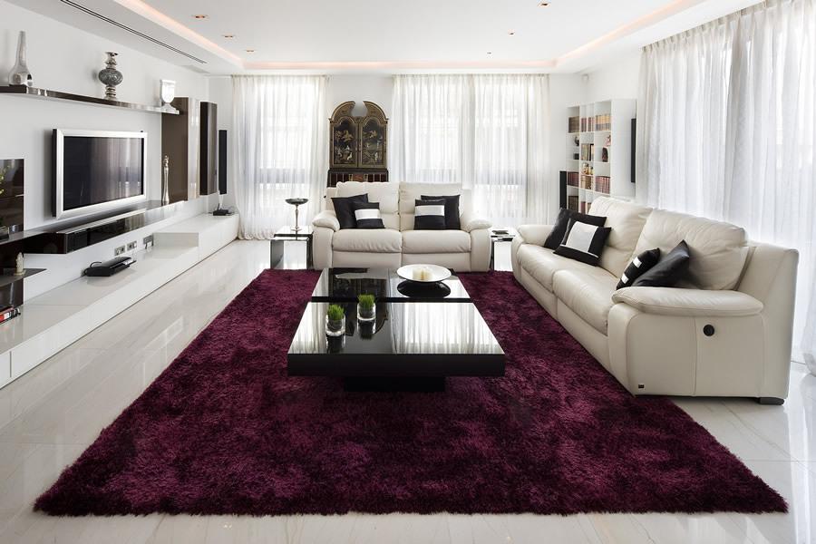 Foto casa baluarte en madrid lujo moderno de galer a - Decoracion moderna salon ...
