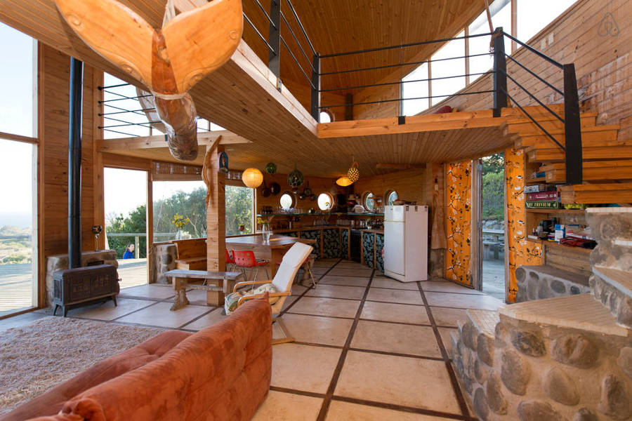18 casas incre bles para irte de vacaciones con airbnb - Casas de campo por dentro ...